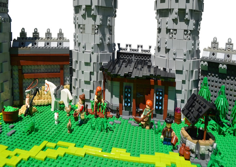 An Incredible Replica Of Hyrule Castle Built By A 19 Year Old-2