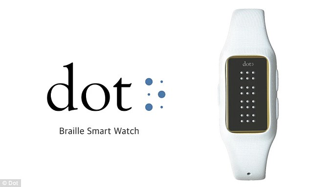 DOT: World's First Braille Smartwatch Lets Blind Read e-Books, Messages And Take Directions-