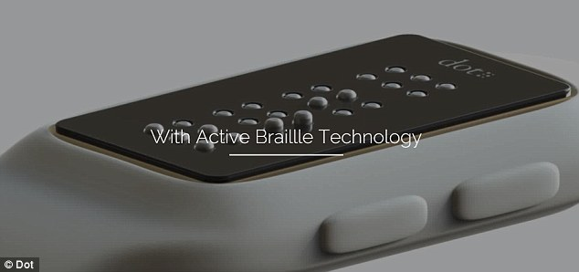 DOT: World's First Braille Smartwatch Lets Blind Read e-Books, Messages And Take Directions-1