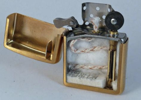 A lighter-Discover Amazing Cross-section View Of 22 Everyday Objects Cut In Half-20