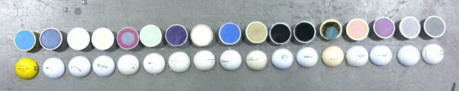 Golf balls-Discover Amazing Cross-section View Of 22 Everyday Objects Cut In Half-8
