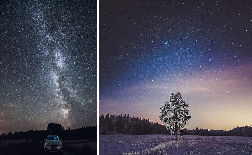 Enjoy The Stunning Beauty Of Finland's Landscapes In Starry Nights-2