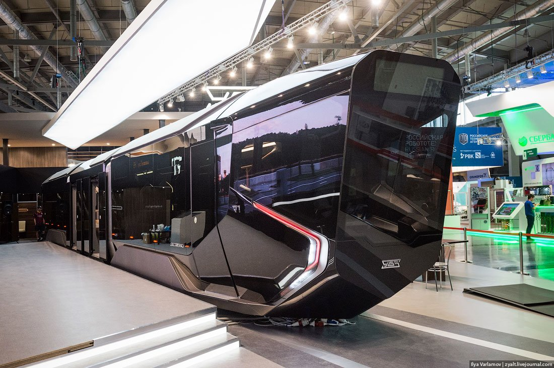 Russian One: The New High-Tech And Luxurious Russian Tram In Photos-