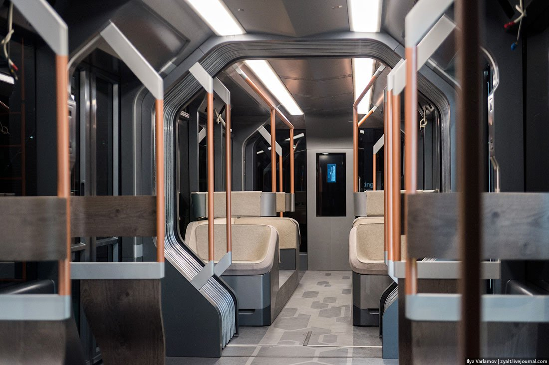Russian One: The New High-Tech And Luxurious Russian Tram In Photos-11