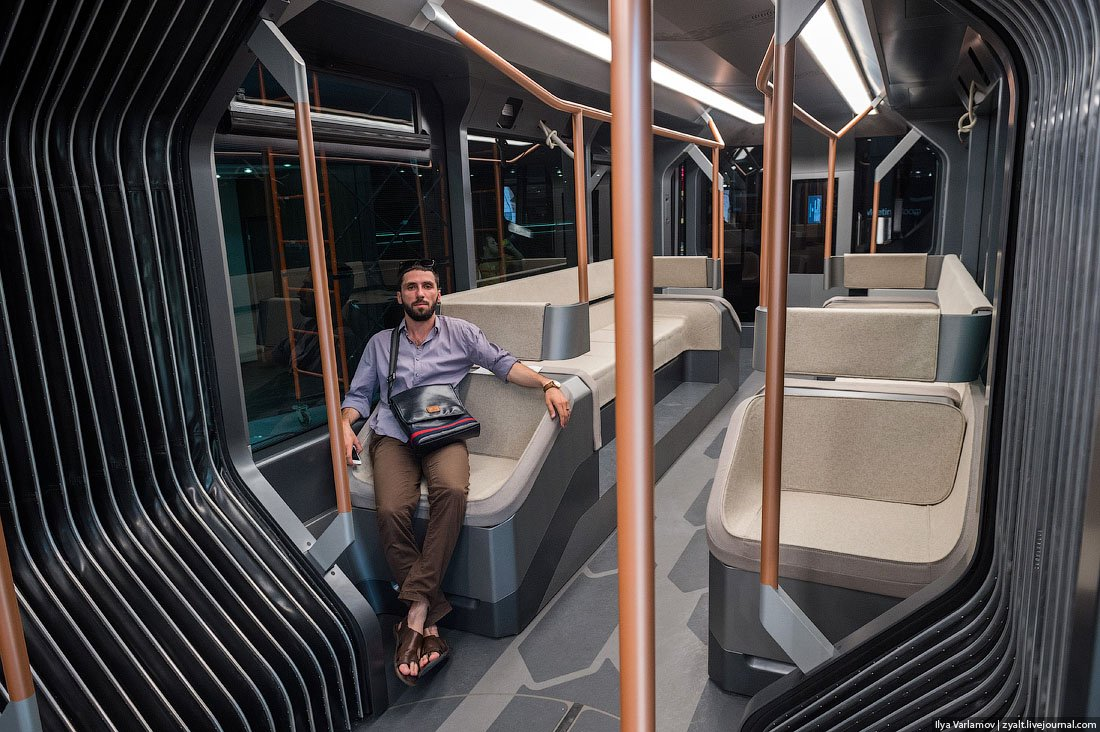 Russian One: The New High-Tech And Luxurious Russian Tram In Photos-19