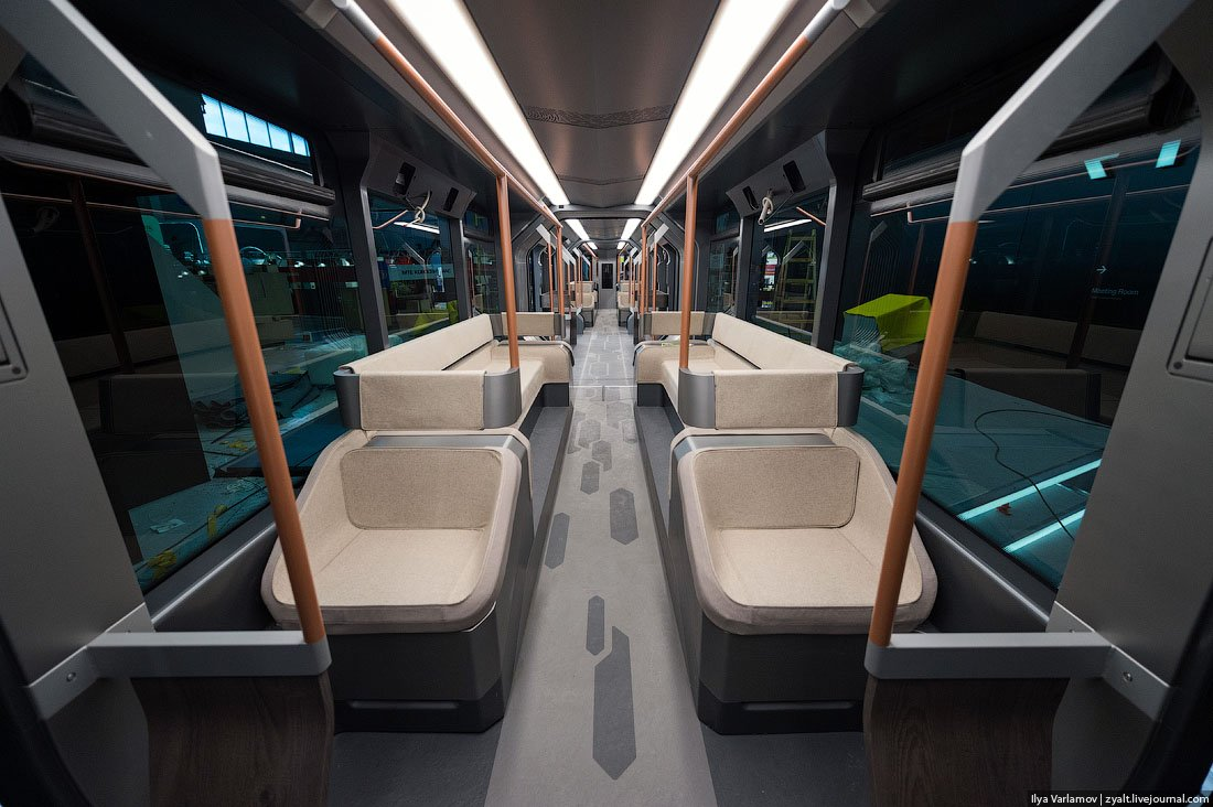 Russian One: The New High-Tech And Luxurious Russian Tram In Photos-2
