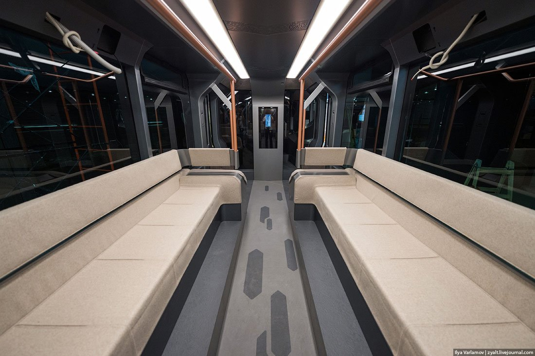 Russian One: The New High-Tech And Luxurious Russian Tram In Photos-5