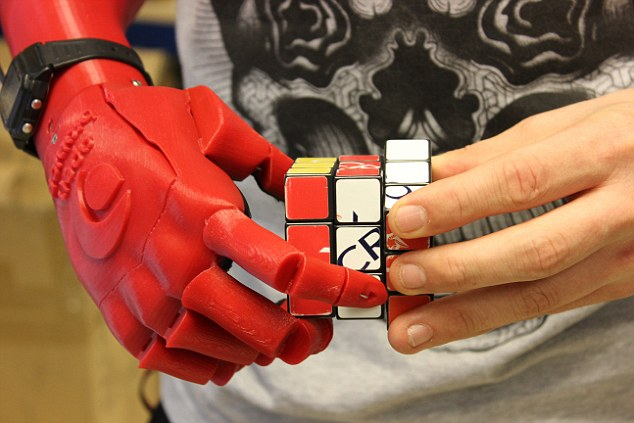 This Cost-Effective But Advanced Robotic Hand Helps Amputees Improve Quality Of Life-