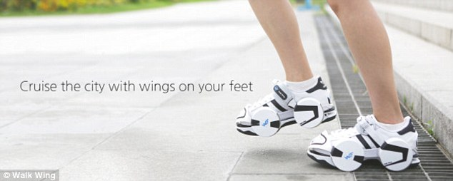 Walk Wing To Convert Any Shoes Into Skateboard-