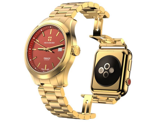 classic-luxury-watch-combined-with-apple-iwatch