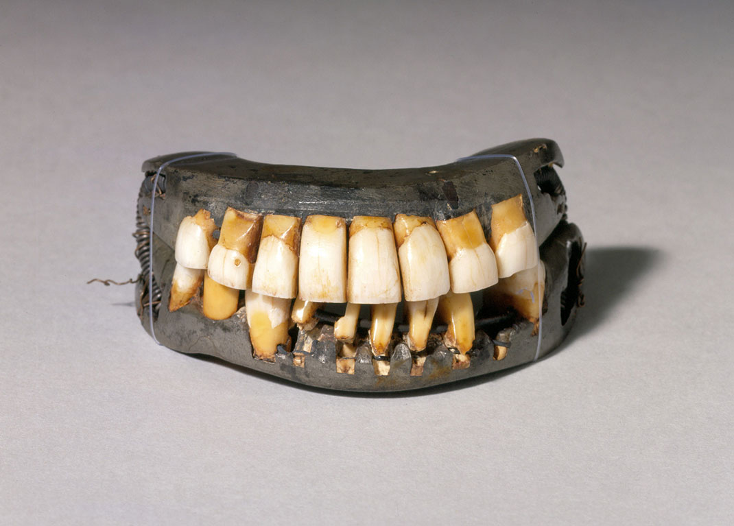 The teeth of George Washington