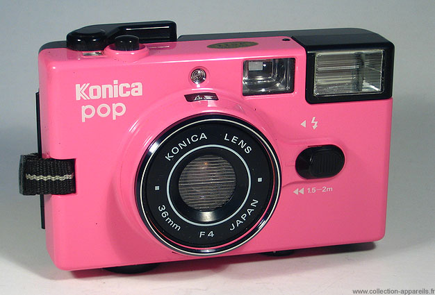 Konica Pop Pink-30 Super Cool Vintage Cameras would Make You Regret Not Being Born Earlier -17