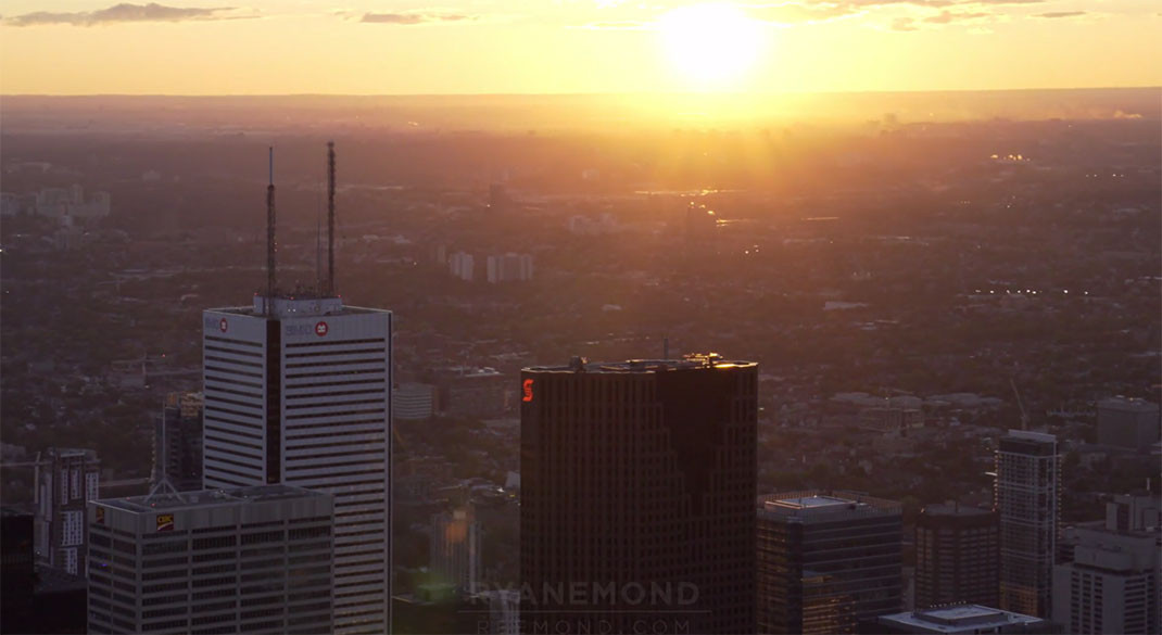 Discover The Sublime Skyline And Skyscrapers Of Toronto From Air-3
