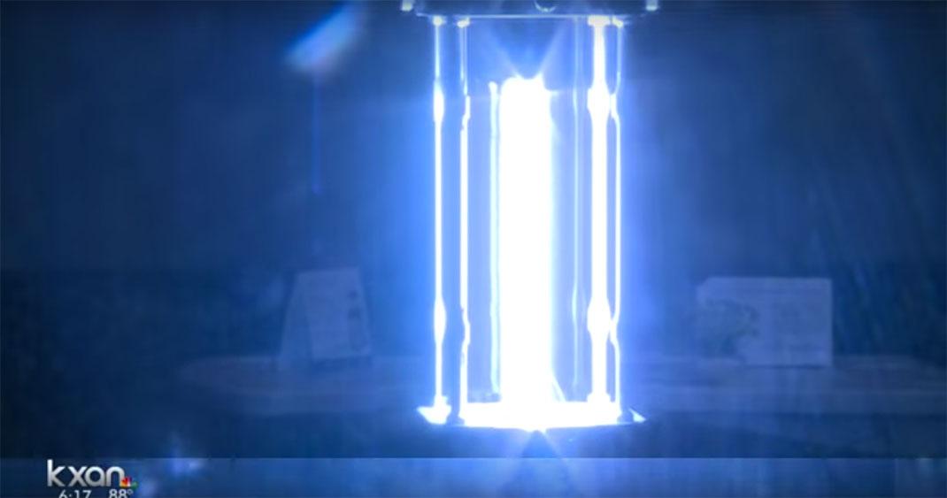 these intelligent robots would use ultraviolet light to. Black Bedroom Furniture Sets. Home Design Ideas