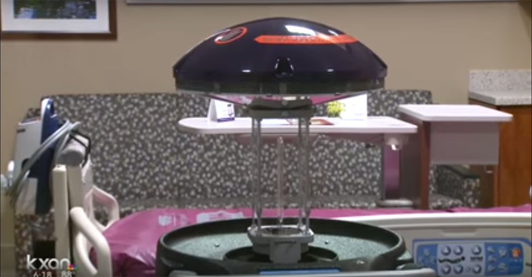 These Intelligent Robots Would Use Ultraviolet Light To Kill Germs In Hospitals-2