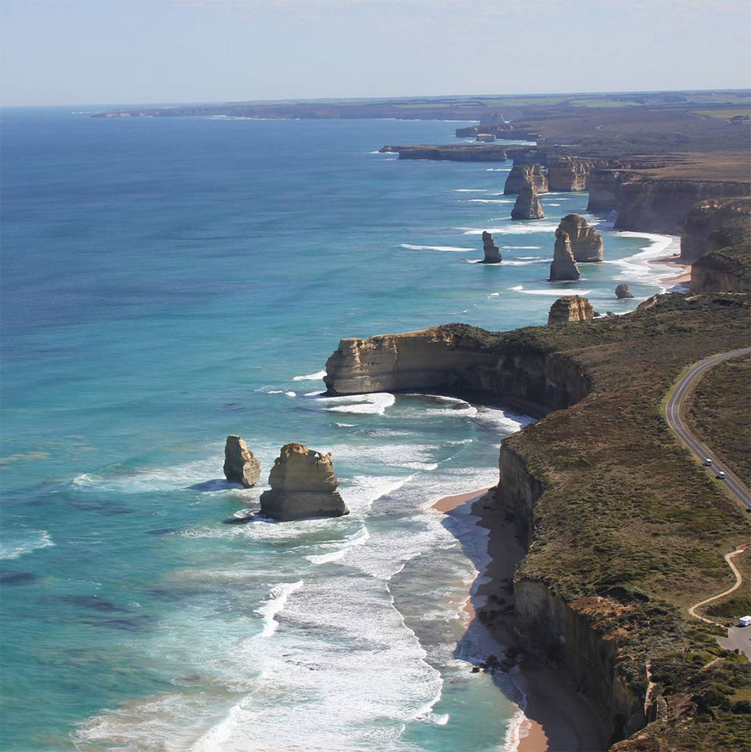 Towering Cliffs And Colorful Reefs Mesmerize You With Beauty Of Australian Coast-