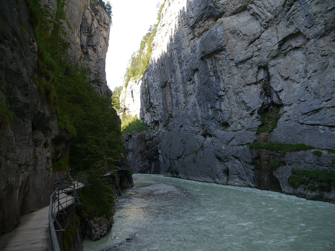 The Aare Gorge