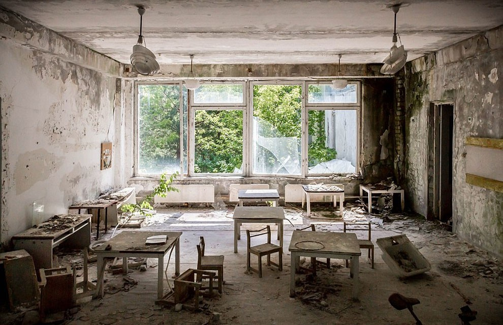 Enter The Scary Ruins Of Pripyat, Ghost Town 3 kilometers From Chernobyl-3