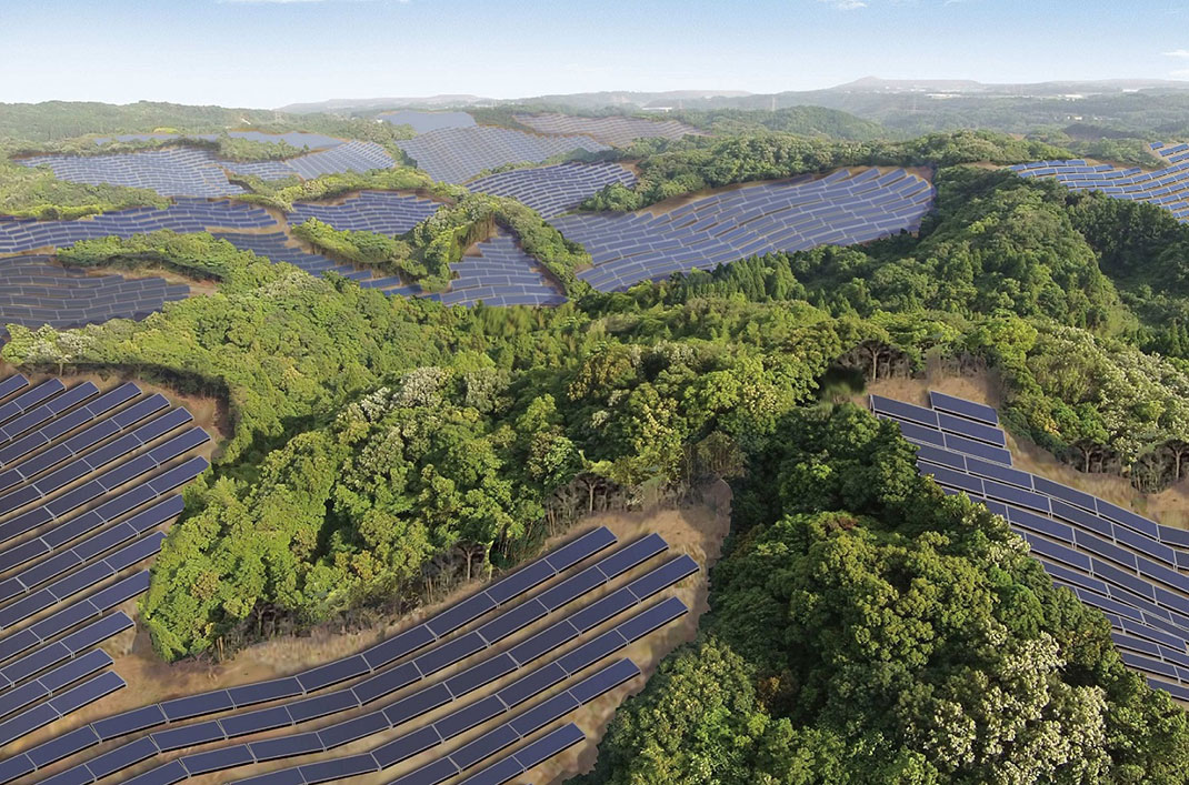 Japan Uses Fomer Golf Courses To Provide Electricity To Thousands Of Homes-1