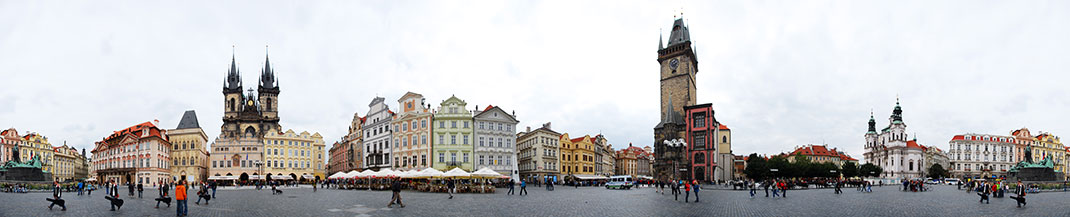 Wander The Colorful Streets Of Prague And Admire Its Wonderful Architecture-