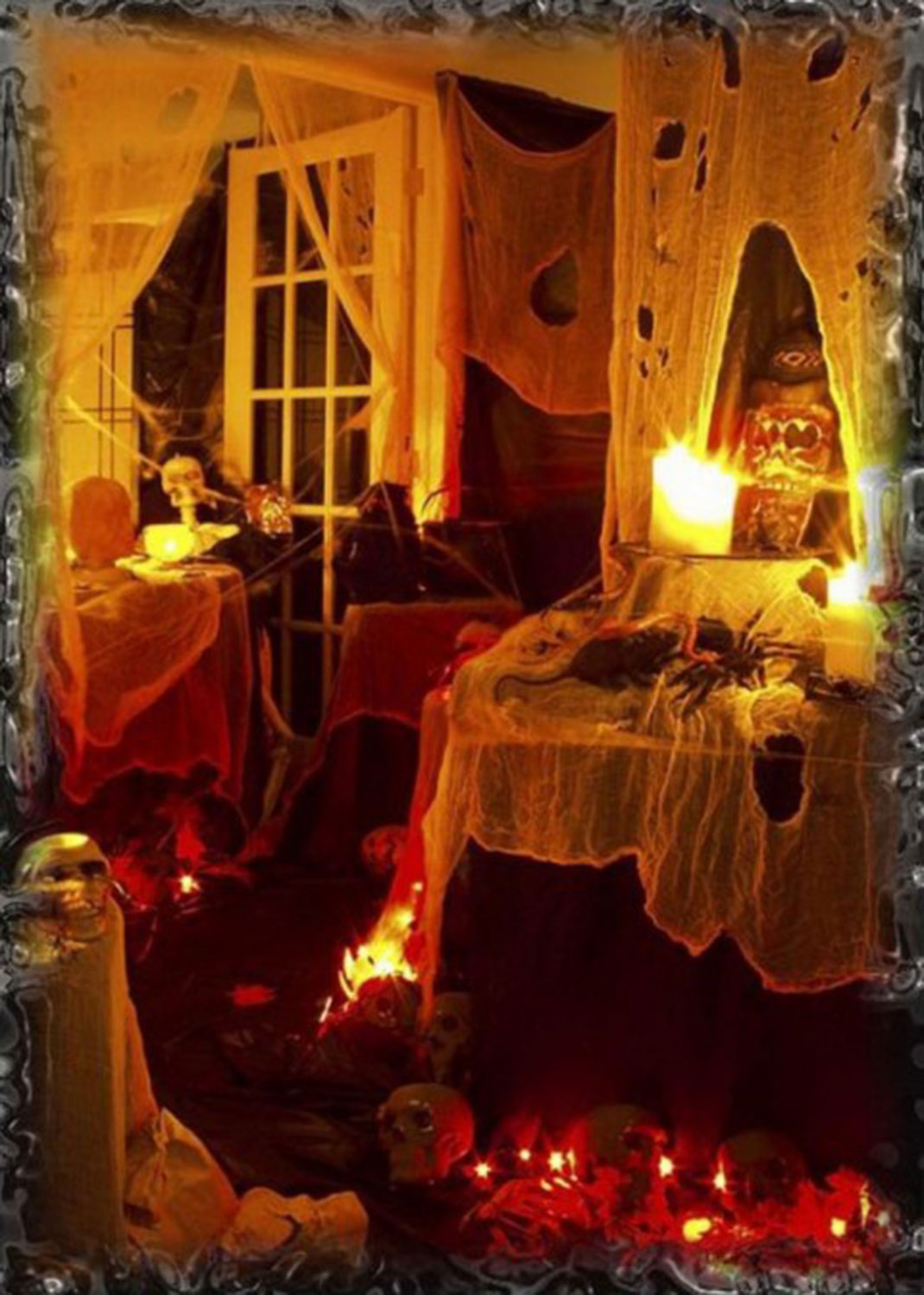 These Halloween Decorations Convert Homes Into Real Horror Meuseums-29