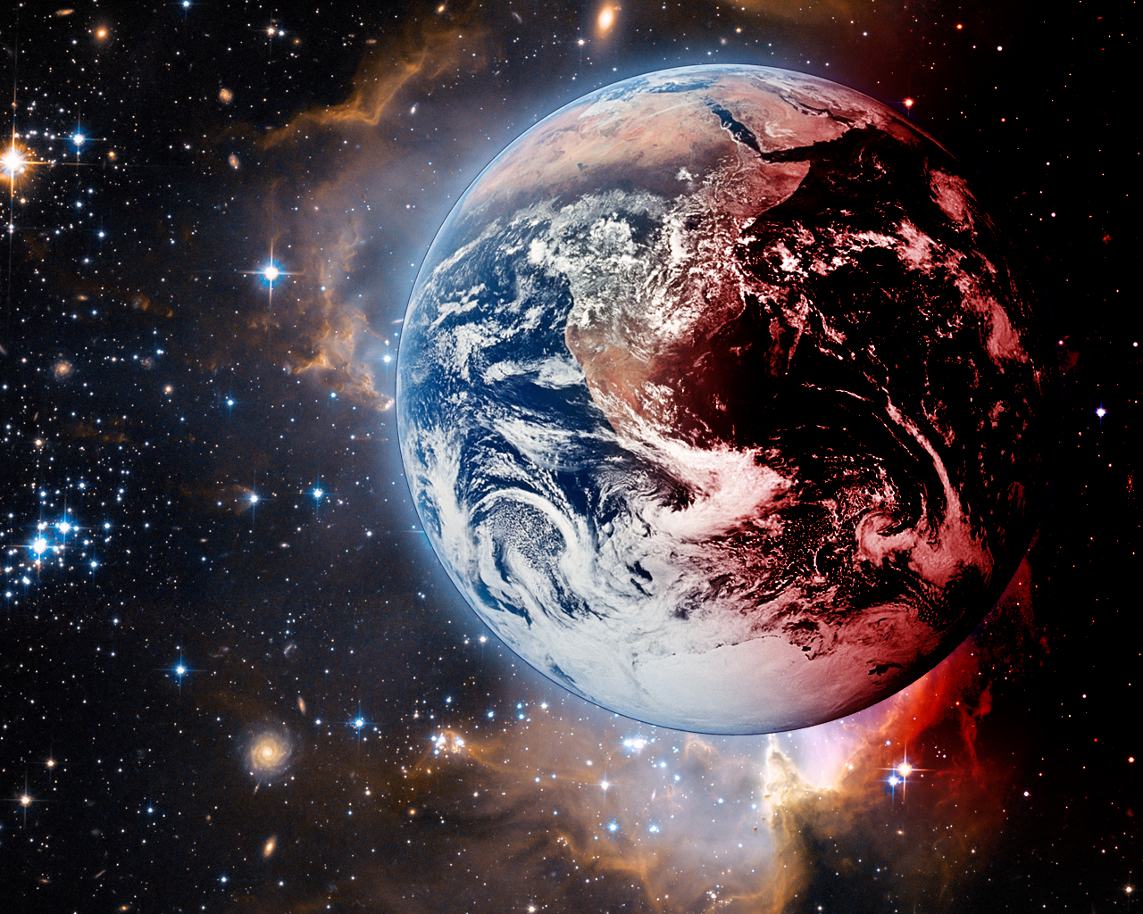 Wallpaper Earth Above Space Hd Space 6408: TechnoCrazed - Part 4