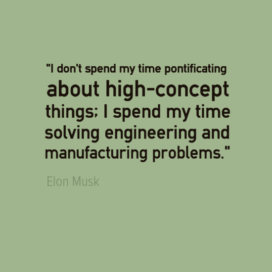 Engineering Quotes Elon Musk