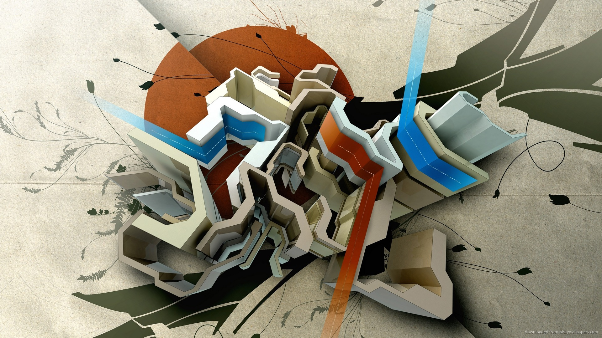 abstract 3d wallpaper 1920x1080 - photo #29