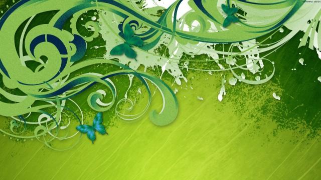خلفية خضراء عالية الوضوح 34272