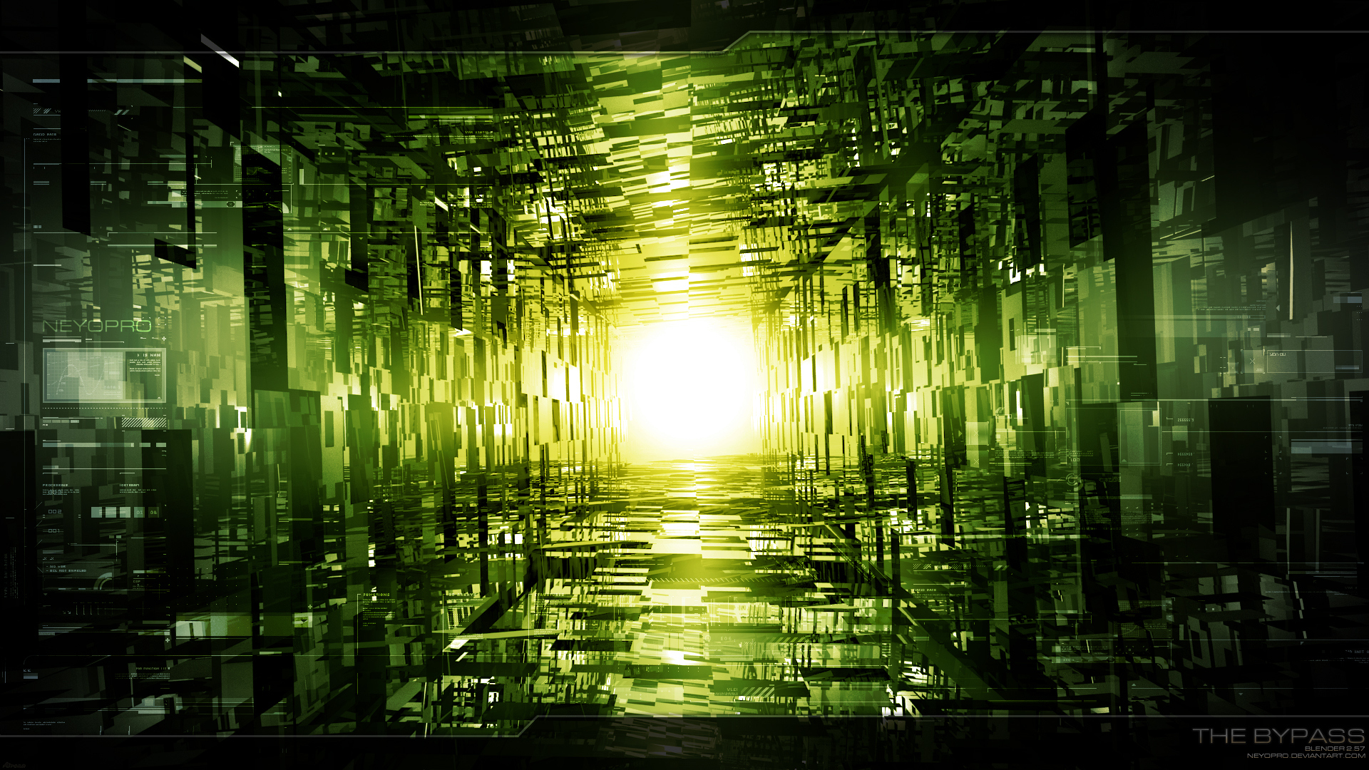 45 HD Green Wallpapers/Backgrounds For Free Download Abstract Green Desktop Wallpaper