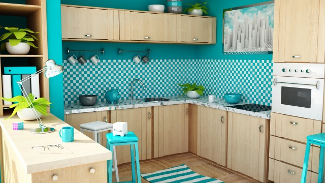 Kitchen wallpaper 1