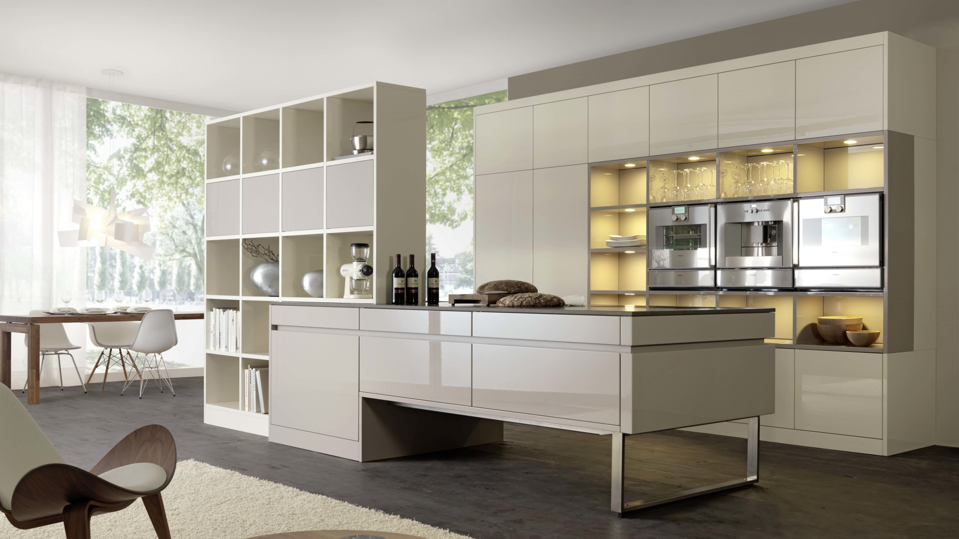 40 most beautiful kitchen wallpapers for free download - Decorating wallpapers for interior ...