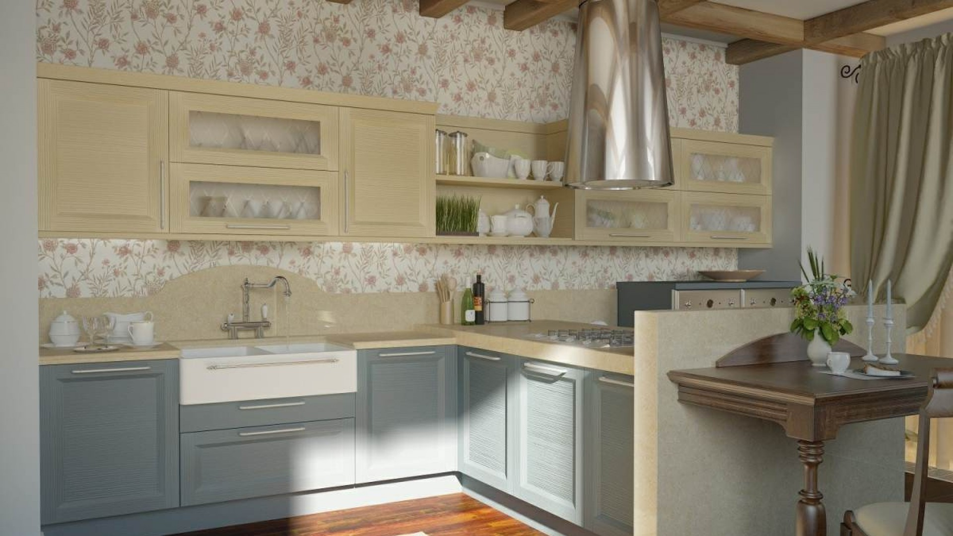 40 Most Beautiful Kitchen Wallpapers For Free Download