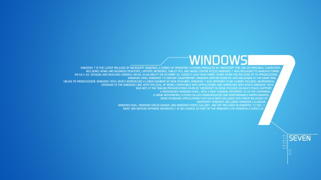 Windows 7 wallpaper 7