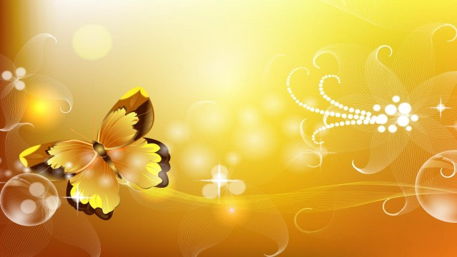 Yellow wallapaper 15