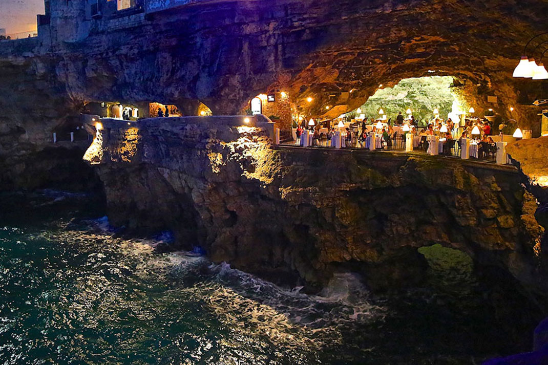 Grotta Palazzese Amazing Italian Restaurant Carved Into A