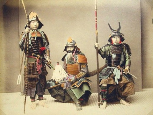 Very Rare Color Photographs Of Samurais Resurface-