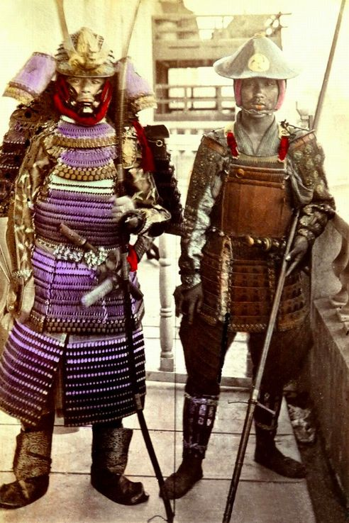 Very Rare Color Photographs Of Samurais Resurface-11