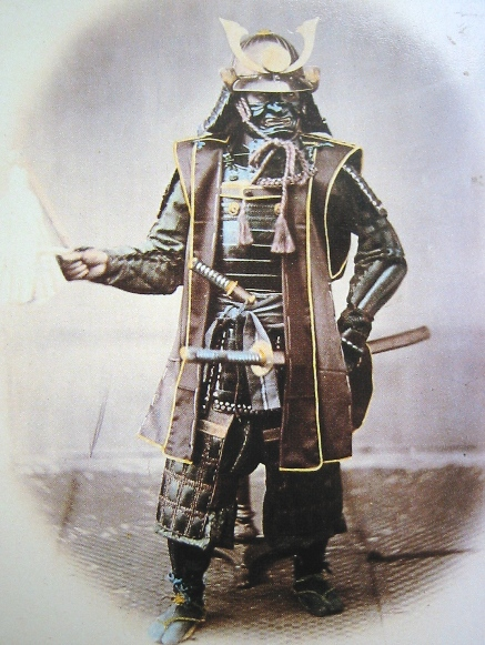 Very Rare Color Photographs Of Samurais Resurface-2
