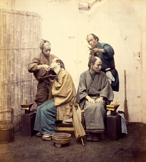 Very Rare Color Photographs Of Samurais Resurface-8