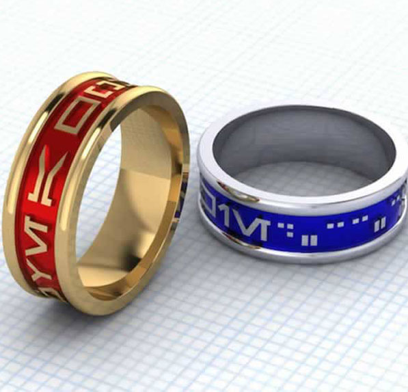 21 Wedding Rings Inspired By The Star Wars saga-