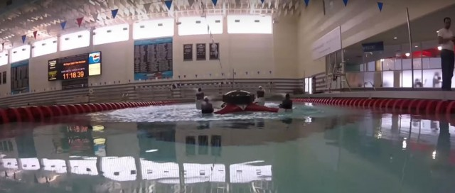 Amazing Drone That Can Fly, Float and Dive Underwater To Make Sea Rescue Missions--1