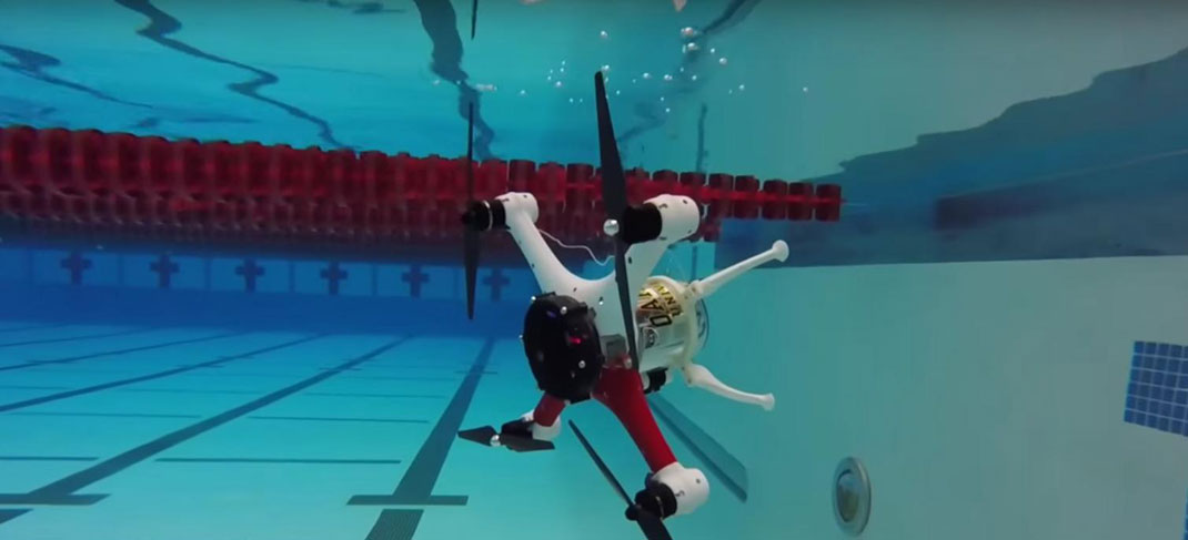 Amazing Drone That Can Fly, Float and Dive Underwater To Make Sea Rescue Missions--4