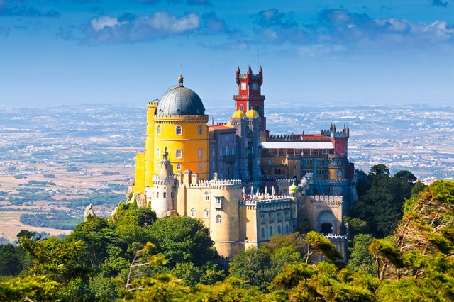 Discover Sintra-Portuguese City Where Beautiful Architecture Perfectly Coexists With Nature-