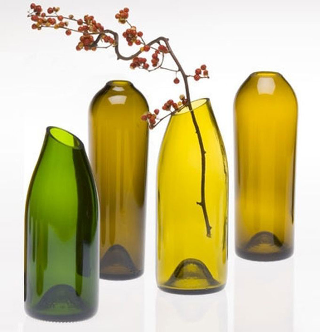 29 ideas to help you recycle your glass bottles cleverly - Creative ideas to reuse wine bottles ...