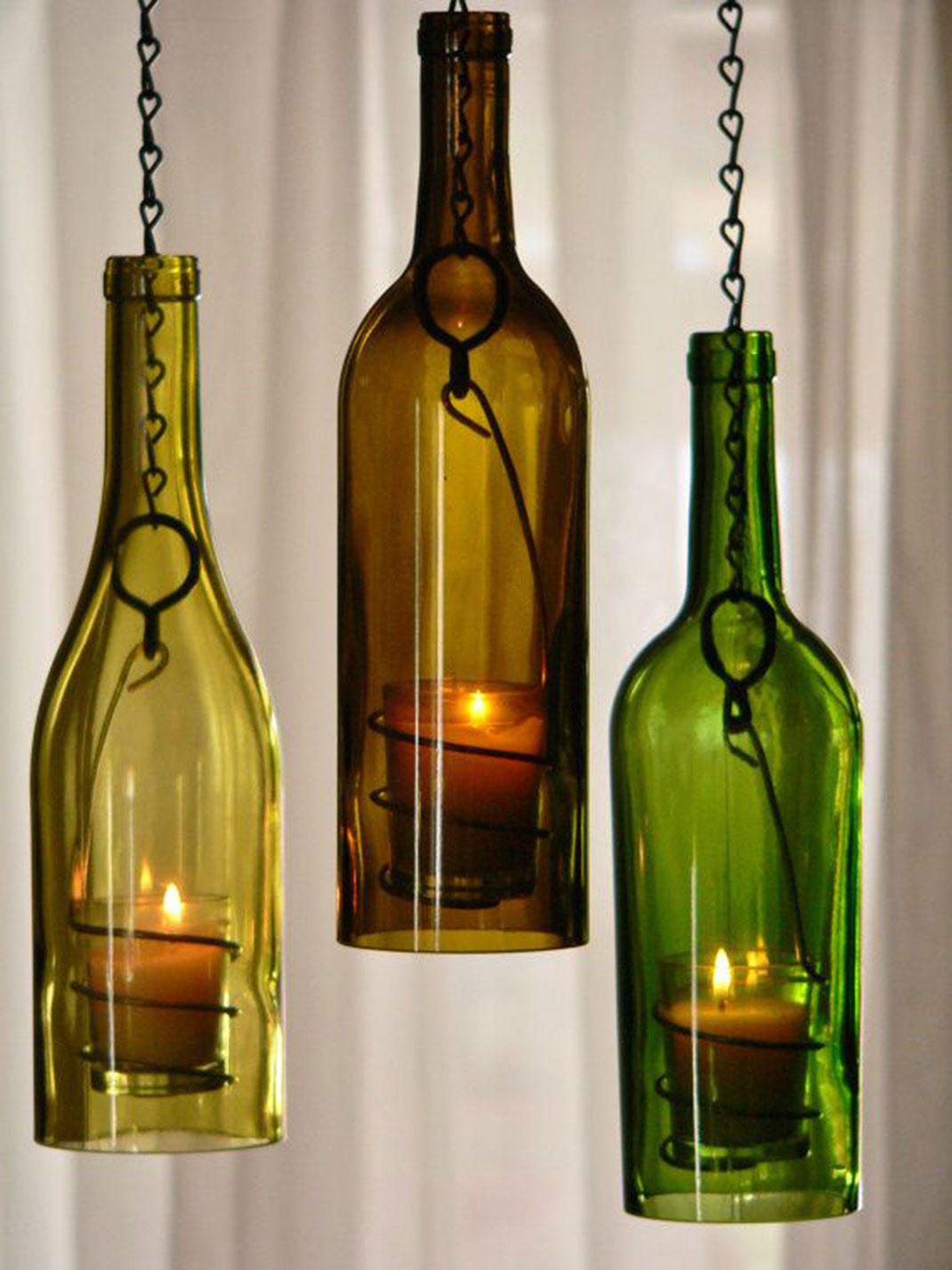 recycle glass bottles ideas images