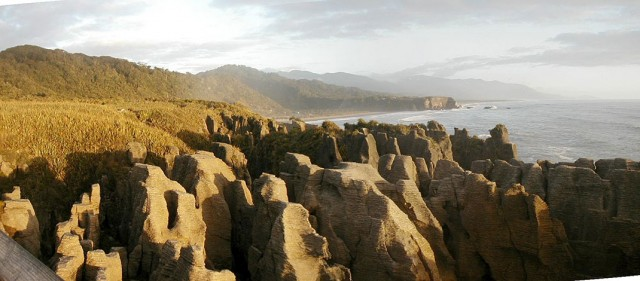 Pancake Rocks-The Amazing Rocky Structures Sculpted By Ocean Waves--2