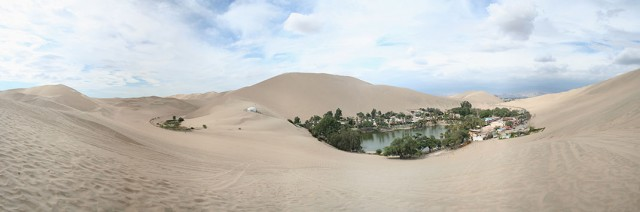 Huacachina-The Beautiful Small Village Built Around Peruvian Desert Oasis--8