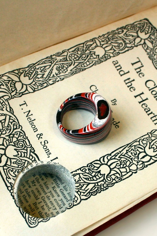 Jeremy Gives New Life To Old Book Pages Turning Them Into Delicate Jewelry--17