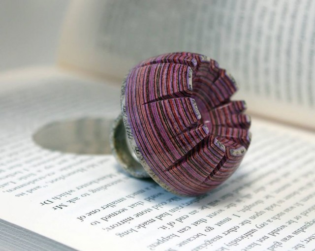 Jeremy Gives New Life To Old Book Pages Turning Them Into Delicate Jewelry--9